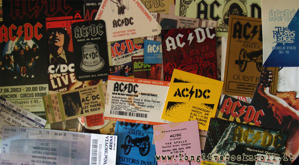 AC/DC... Let's tickets...