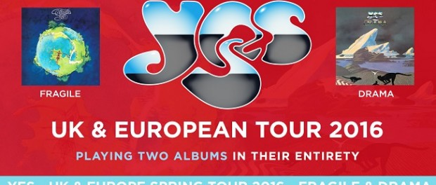 Yes - European Tour 2016