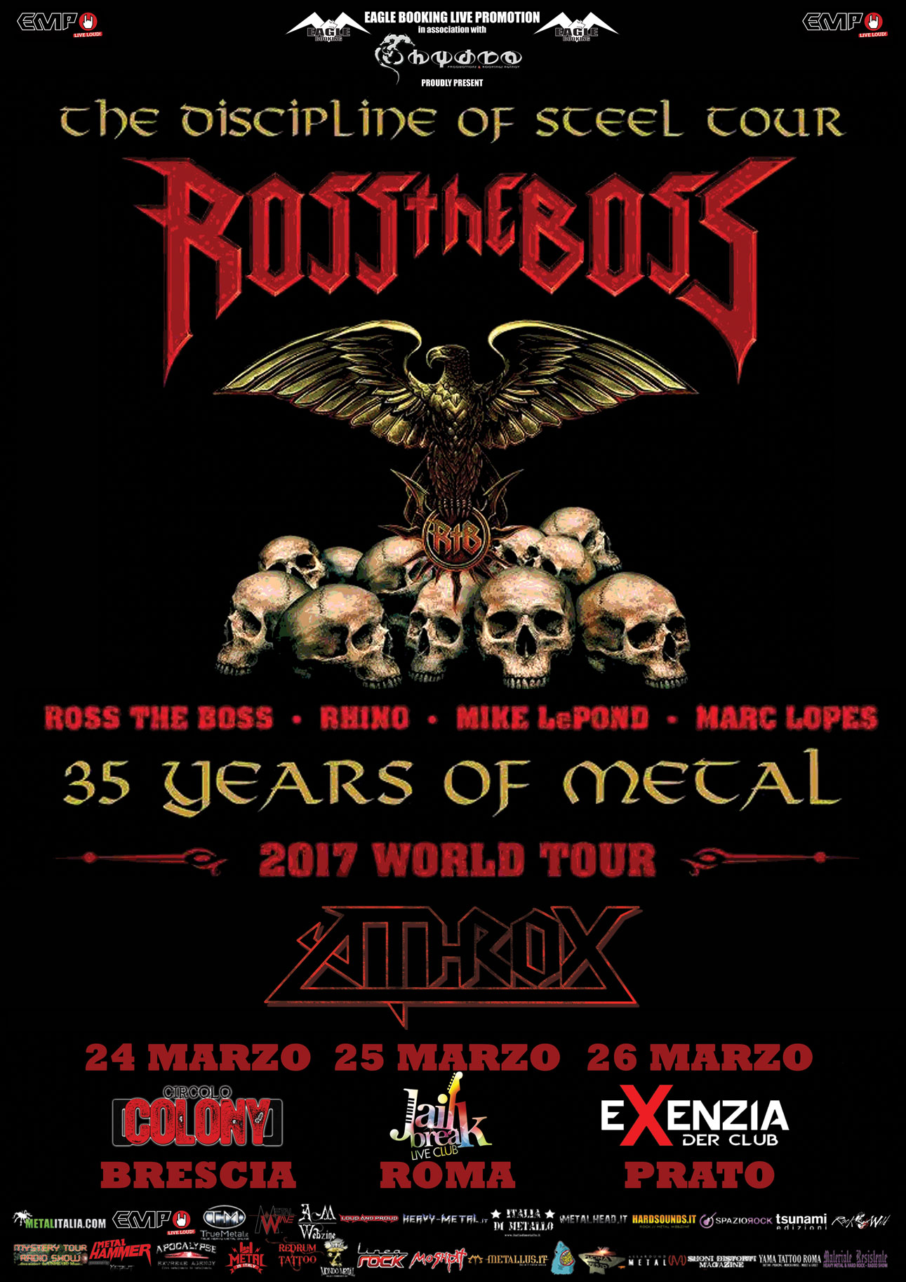 Ross The Boss Italy 2017 def