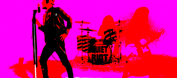 Quiet Riot – Video on Line: 'Can't Get Enough'