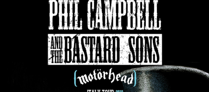 Phil Campbell & the Bastard Sons – A Marzo Tre Date in Italia