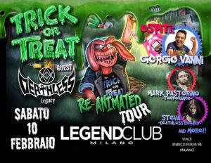 Trick Or Treat - Deathless Lecacy @ Legend Club - Milano | Milano | Lombardia | Italia