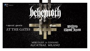 BEHEMOTH + AT THE GATES + WOLVES IN THE THRONE ROOM @ Alcatraz | Milano | Lombardia | Italia