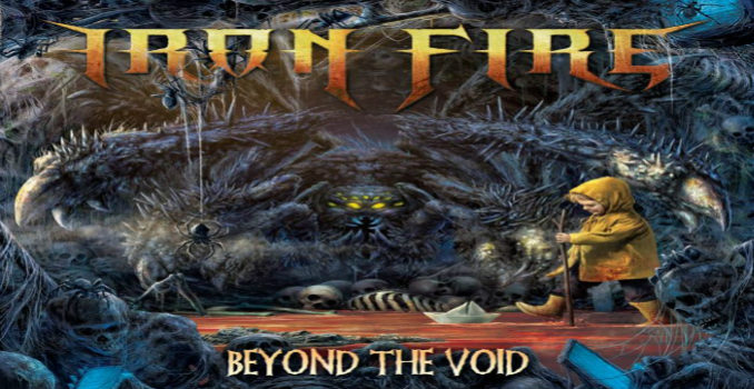 Iron Fire: la copertina del nuovo album 'Beyond The Void'