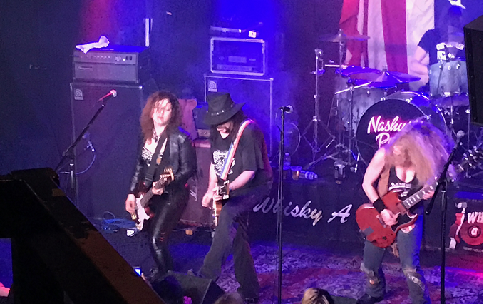 """Nashville Pussy – """"Pussy's not a dirty word"""" said at the Whiskey 30 Marzo 2017"""
