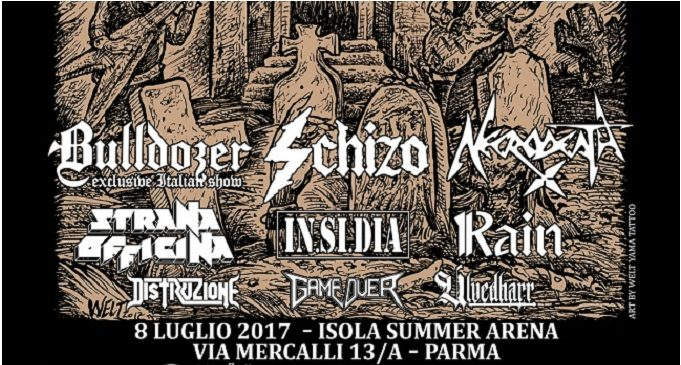 True Metal Festival Italian Aggression Edition – Isola Summer Arena, Parma – 8 Luglio 2017