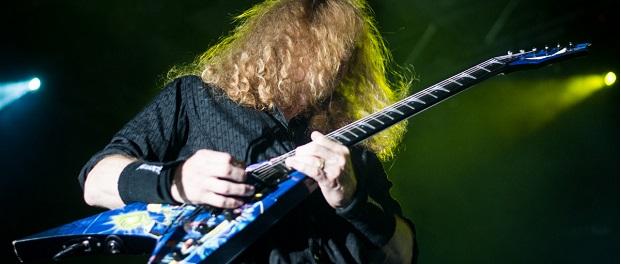 Megadeth - Bologna 2016 foto articolo