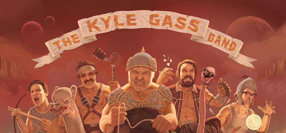 Kyle Gass Band - Ad Aprile in Italia