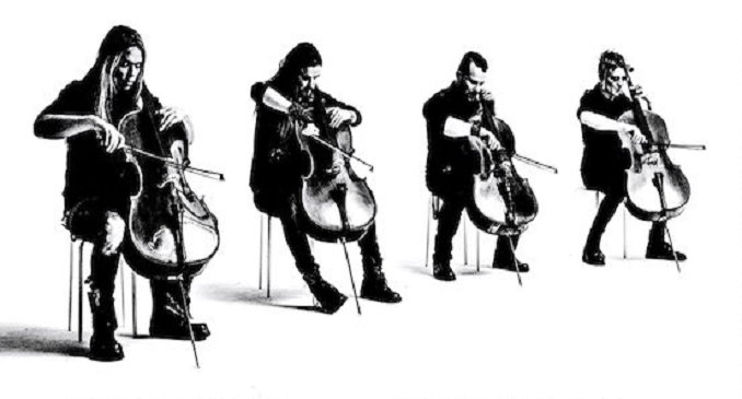 Apocalytica - Video on Line del concerto di Vienna