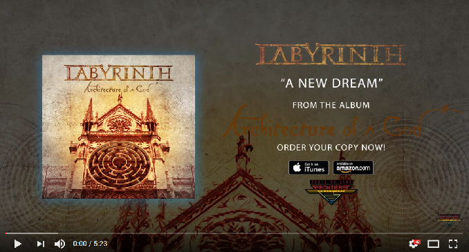 Labyrinth - Brano on Line: 'A New Dream'