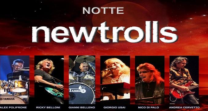 Notte New Trolls - Teatro Brancaccio , Roma - 13 Febbraio 2017