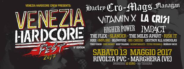 Venezia Hardcore Fest - Annunciate le prime band