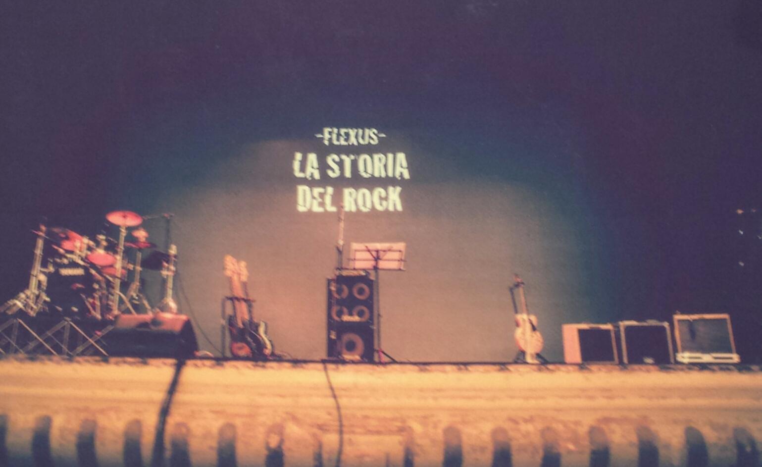 A Lezione di Rock - La Storia del Rock raccontata nelle scuole e a teatro dai Flexus... Daniele Brignone ci racconta...