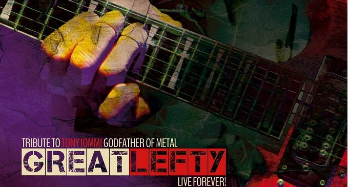 """'Great Lefty: live forever"""" - Il tributo a TONY IOMMI verrà pubblicato in LP."""