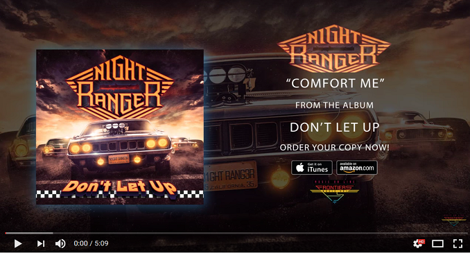 Night Ranger - Nuovo Brano on Line: 'Confort Me'