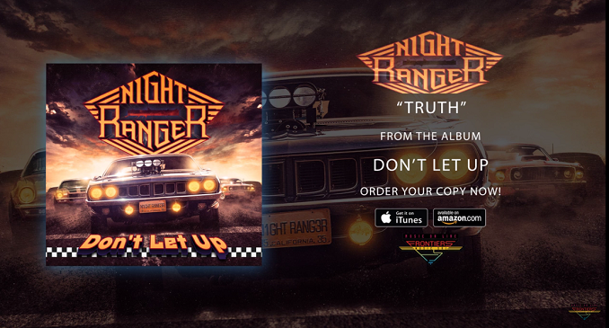 Night Ranger - Nuovo Brano on Line: 'Truth'