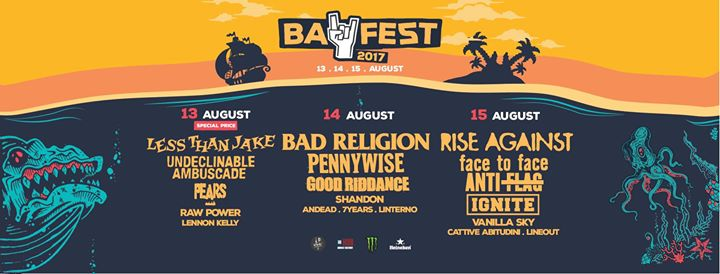 BAY FEST - La Line-Up completa!