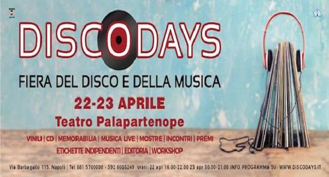 Disco Days 2017 - Annunciate le prime iniziative della XVIII edizione della fiera del vinile e della musica di Napoli