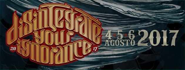 DISINTEGRATE YOUR IGNORANCE FEST - Svelata la line up completa del sabato