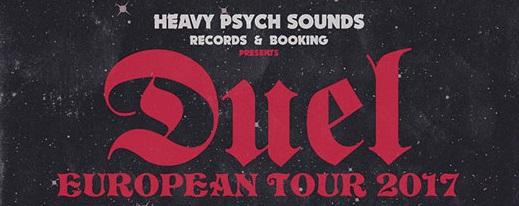 Duel: tour europeo con diverse date in Italia