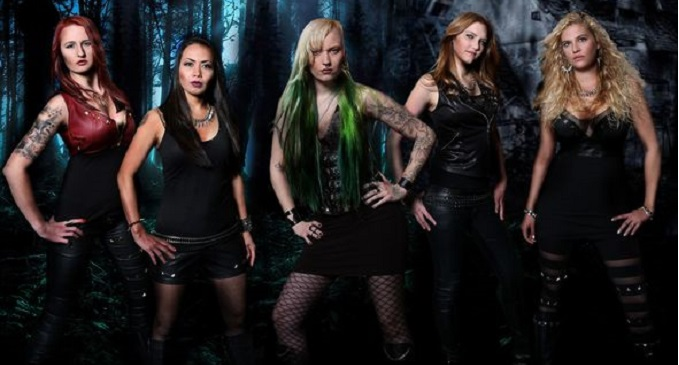 Burning Witches - Nuova All Female Band, Pronto il Debut Album