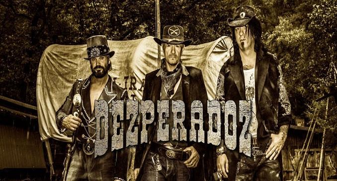 Dezperadoz - Nuovo album a maggio:  'Call of the Wild' e video on line: 'Back in the Saddle'