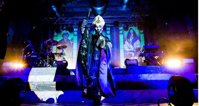 GHOST: in concerto in Italia a dicembre con gli All Them Witches e Tribulation