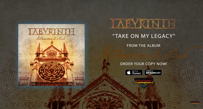Labyrinth - Nuovo offcial audio on line: 'Take On My Legacy'