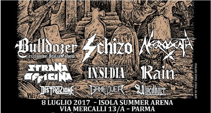 True Metal Festival Italian Aggression Edition - Isola Summer Arena, Parma - 8 Luglio 2017