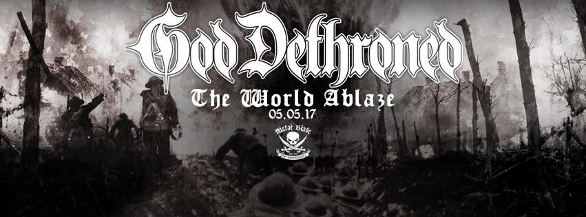 "GOD DETHRONED - Il nuovo video ""The World Ablaze"""
