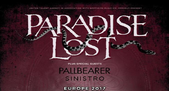 Paradise Lost - Pronto il tour europeo, data in Italia a Ottobre