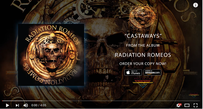 Radiation Romeos - Nuovo Official Audio on Line: 'Castaways'