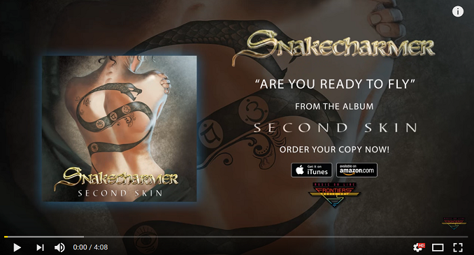 Snakecharmer - Official Audio on Line: 'Are You Ready To Fly'