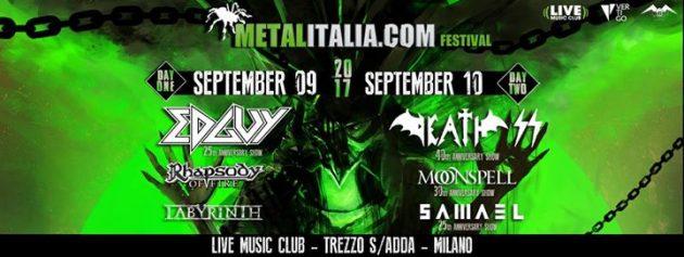 METALITALIA FEST - Annunciate le band dei 2 giorni di festival