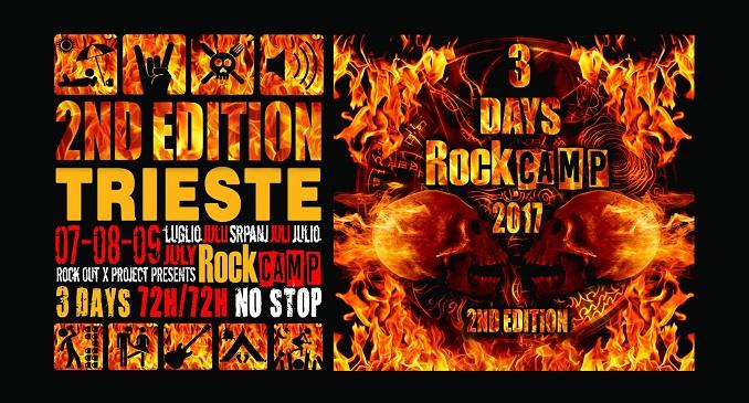 Rock Camp 2017: bill definitivo