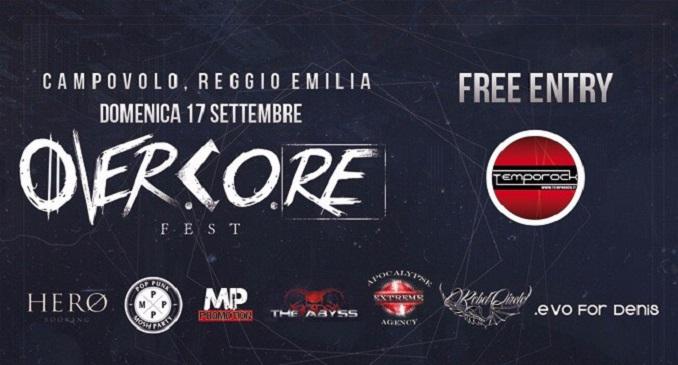 Overcore Fest - A Settembre nella Splendida Cornice di Campovolo, Reggio Emilia