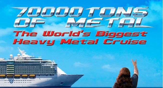 70000 Tons Of Metal - Pronta la Crociera più Pesante di Sempre