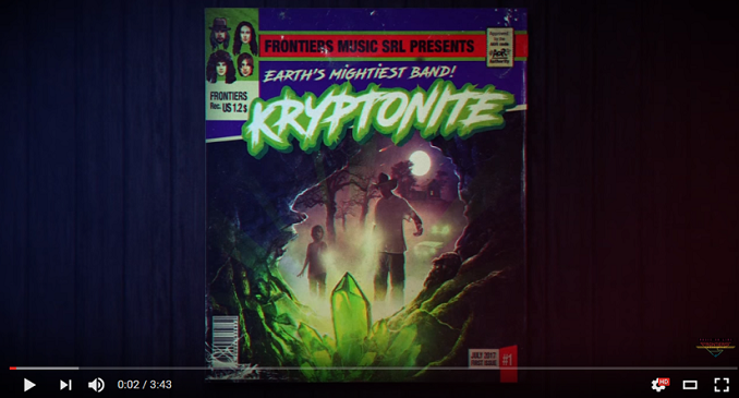 Cryptonite - Official Audio on Line per la Nuova Super Band Svedese: 'Across The Water'