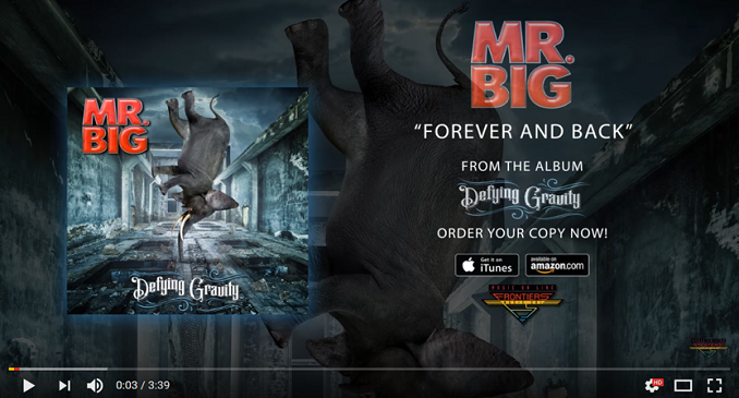 Mr. Big - Official Audio on Line: 'Forever and Back'