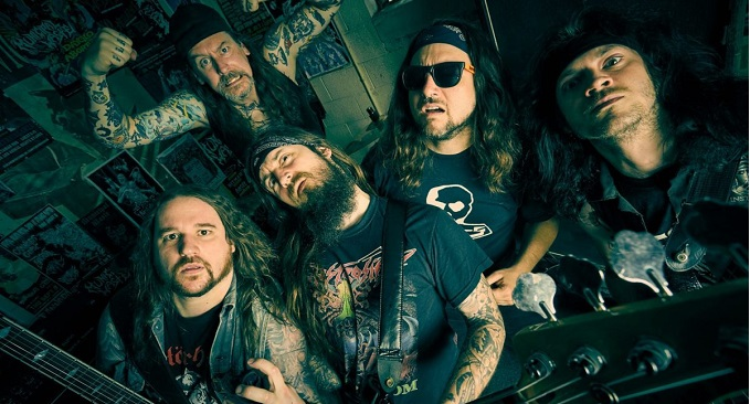 Municipal Waste - Video on line: 'Breathe Grease'