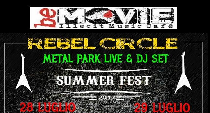 Primo Festival Estivo dedicato alle band emergenti del metal underground italiano