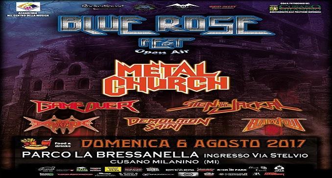 Metal Church - Tutti i dettagli del concerto al Blue Rose Fest