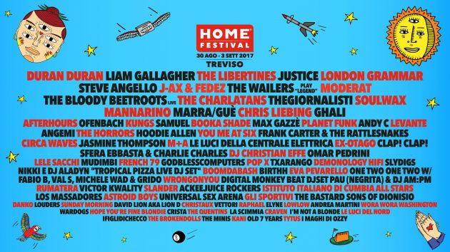 HOME FESTIVAL - Nuovi nomi chiudono la line up