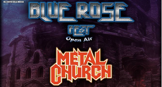 Metal Church - Il 6 Agosto al Blue Rose Fest...
