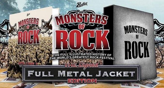Monsters Of Rock - La Storia del Festival in un Libro
