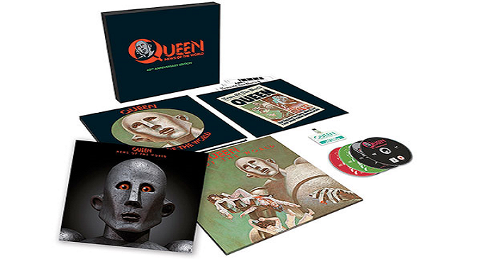 Queen - 'News Of The World' 40th-anniversary box set