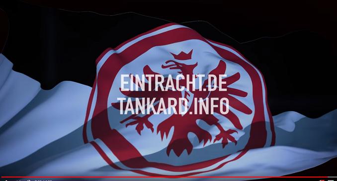 Tankard - il Video di 'Schwarz-Weiß wie Schnee' prima della partita tra Eintracht Frankfurt e Borussia Dortmund