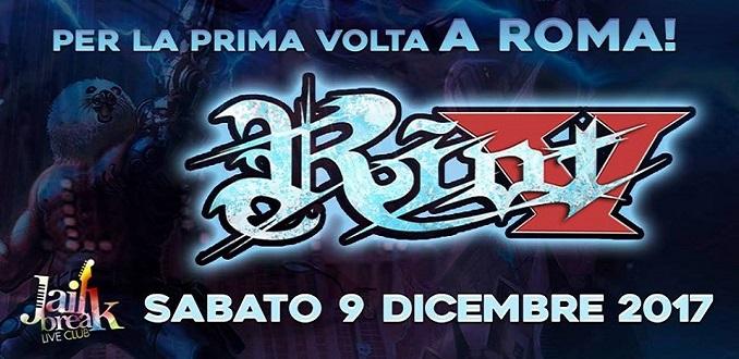 Riot V: unica data in Italia