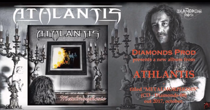 Athlantis - Brano on line per la power super metal band italiana: 'Battle of Mind'