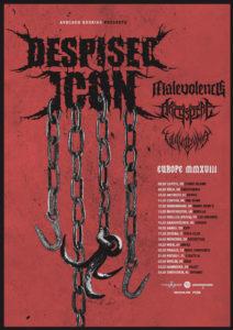Despised Icon +Malevolence + Aschspire + Vulvodynia @ Vidia Rock Club - Cesena (FC) | Cesena | Emilia-Romagna | Italia